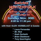 Nashville Bound Salutes Winterfolk Nov 30, 2014
