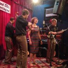 Kristine Schmitt with the Lonesome Ace Stringband