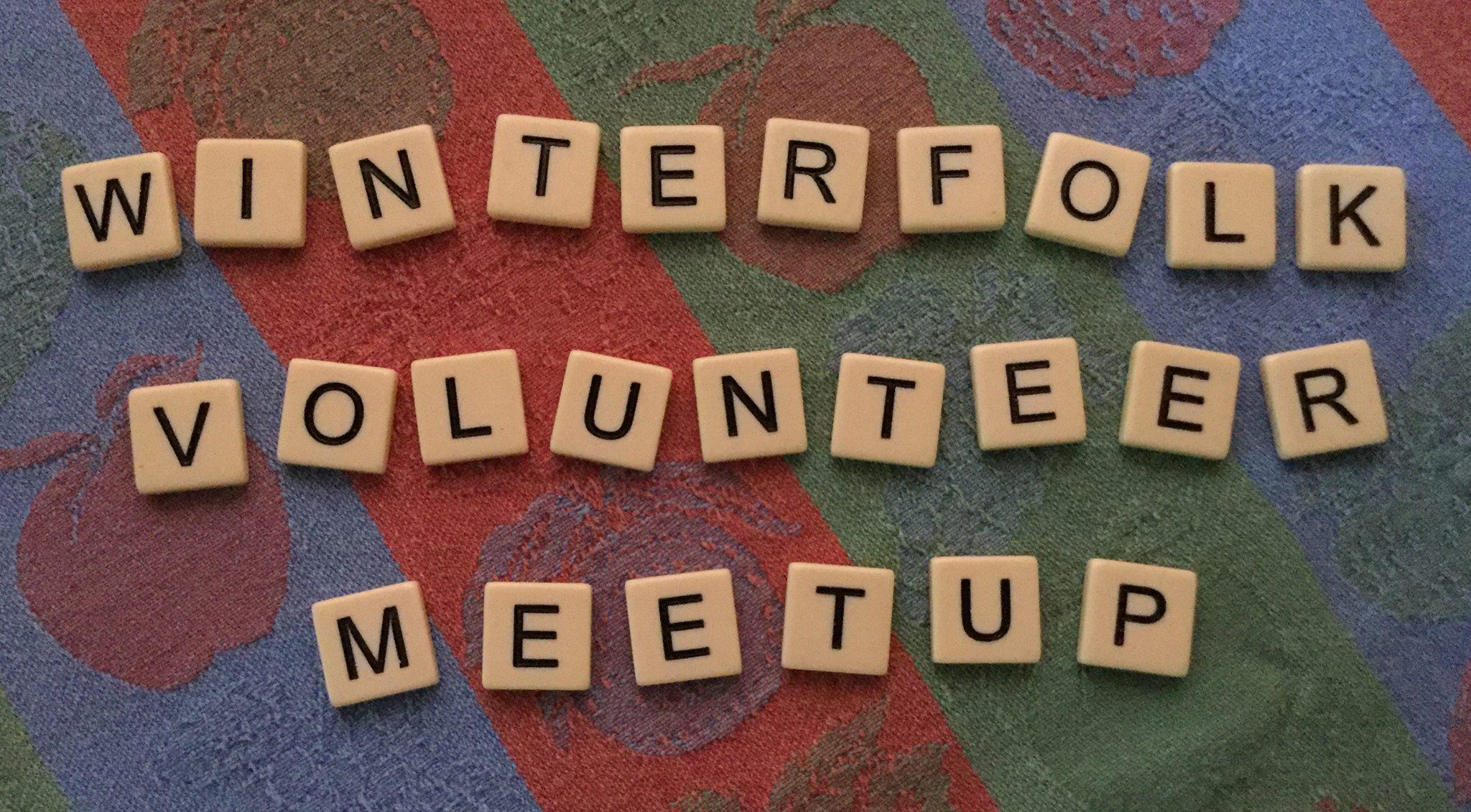 Winterfolk Volunteer Meet Up Saturday Jan 20, 2018