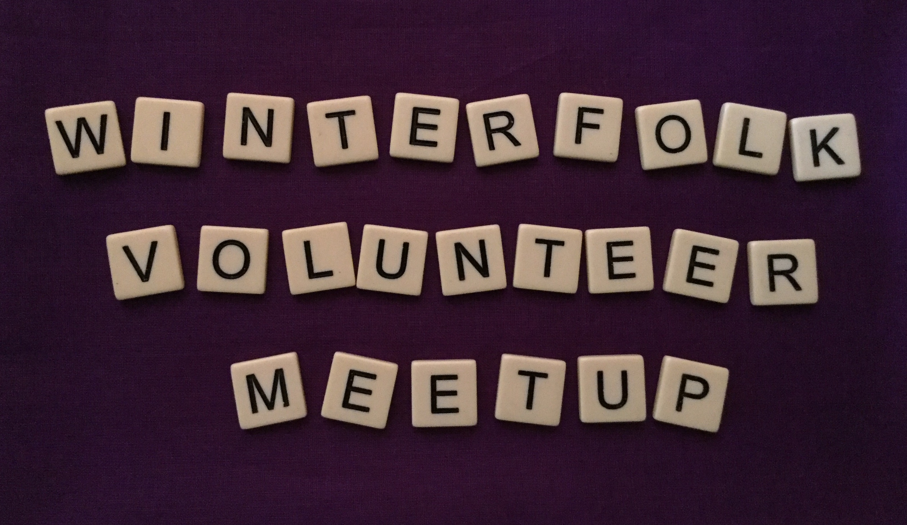 Winterfolk Volunteer Meet Up Jan 19